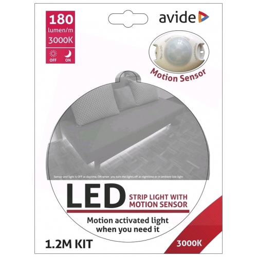 Avide LED Szalag Ágy Szenzor 3W 3000K Single