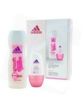 Adidas Csomag: Roll-on Dezodor (50ml) + Tusfürdő (250ml)