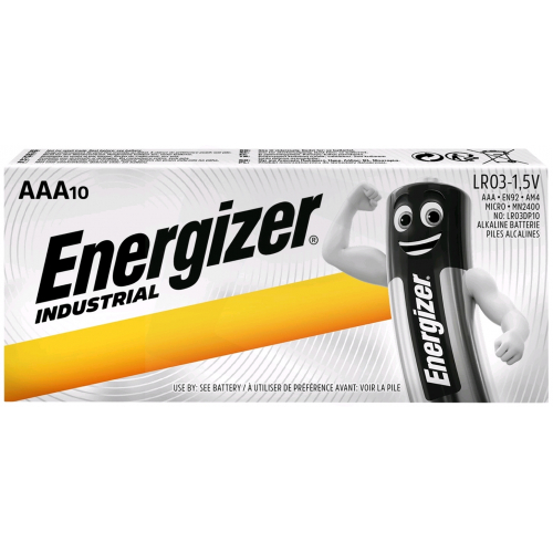 Energizer Industrial Mikro Elem AAA P10