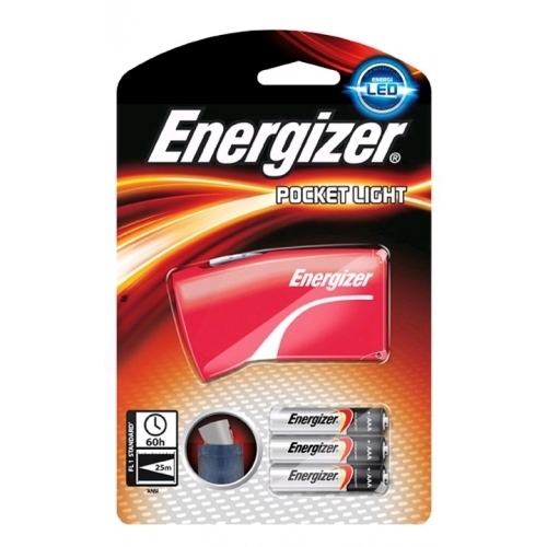 Energizer Elemlámpa Pocket Light (+3AAA)