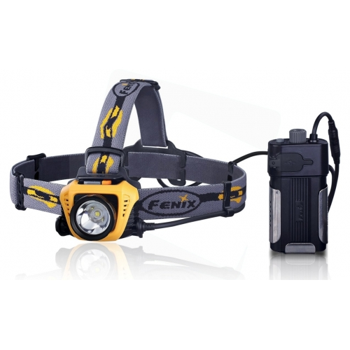 Fenix Light Fejlámpa HP30 LED Sárga (900 lumen)