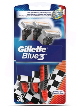 Gillette Disposable Razor Blue 3 (3pcs/pack)