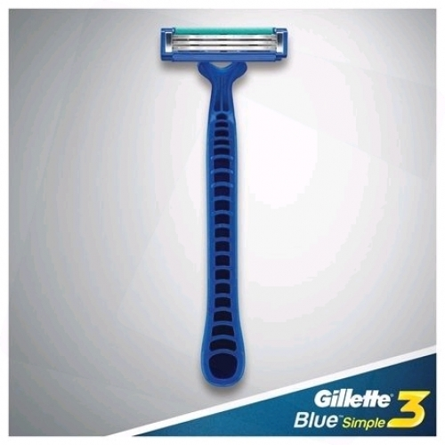 Gillette Borotva Eldobható Blue Simple 3 Kartella (24db/csomag)