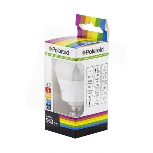 Polaroid LED Mini Globe E14 7W WW 3000K (560 lm)