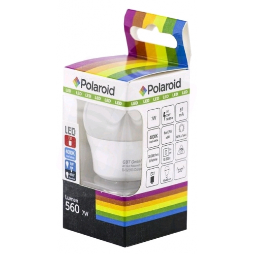 Polaroid LED Mini Globe E27 7W NW 4000K