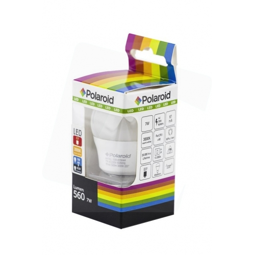 Polaroid LED Mini Globe E27 7W WW 3000K (560 lm)